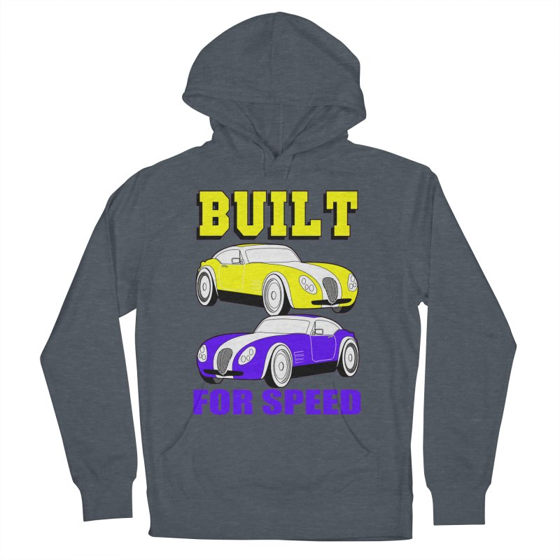VOITURE-4 Women's Pullover Hoody by THE ORANGE ZEROMAX STREET COUTURE