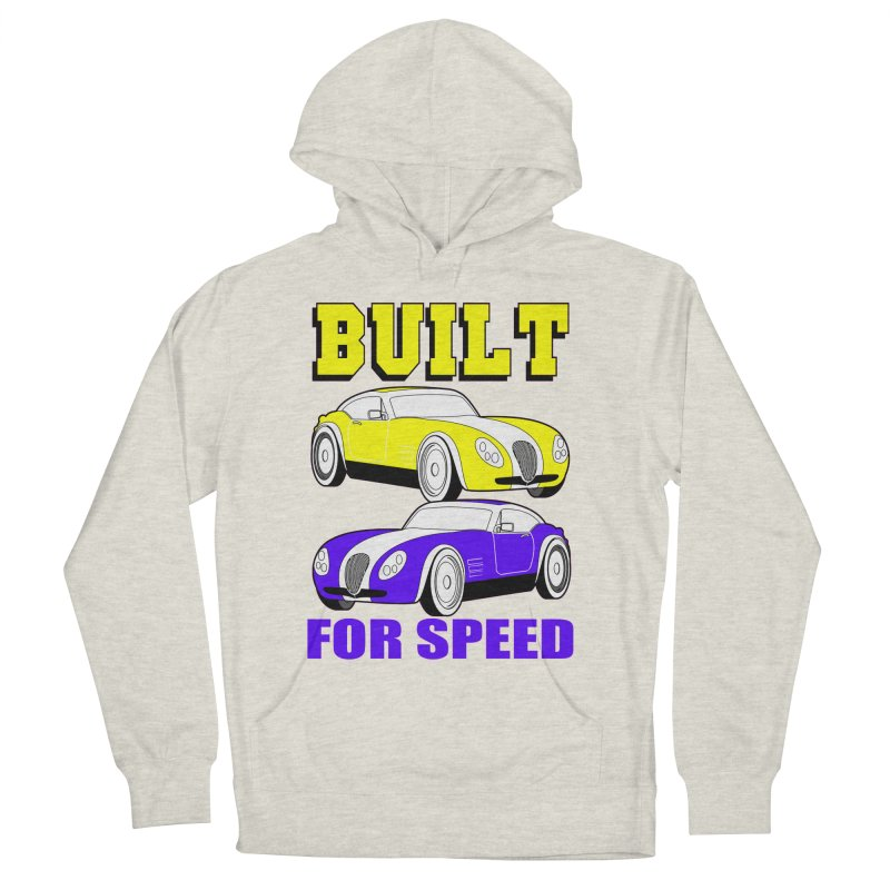 VOITURE-4 Men's Pullover Hoody by THE ORANGE ZEROMAX STREET COUTURE