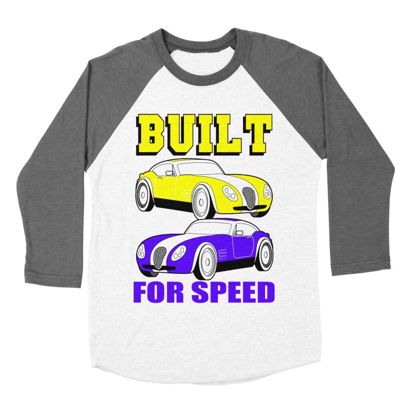 VOITURE-4 Men's Baseball Triblend T-Shirt by THE ORANGE ZEROMAX STREET COUTURE