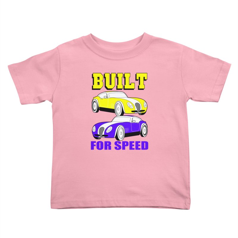 VOITURE-4 Kids Toddler T-Shirt by THE ORANGE ZEROMAX STREET COUTURE