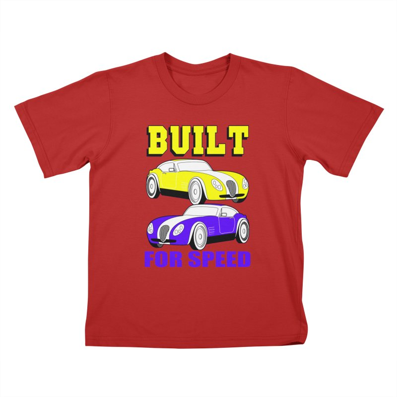 VOITURE-4 Kids T-shirt by THE ORANGE ZEROMAX STREET COUTURE