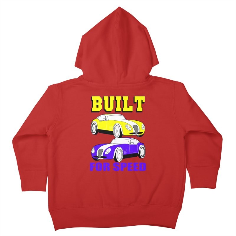 VOITURE-4 Kids Toddler Zip-Up Hoody by THE ORANGE ZEROMAX STREET COUTURE