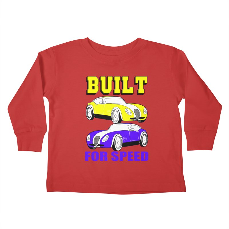 VOITURE-4 Kids Toddler Longsleeve T-Shirt by THE ORANGE ZEROMAX STREET COUTURE