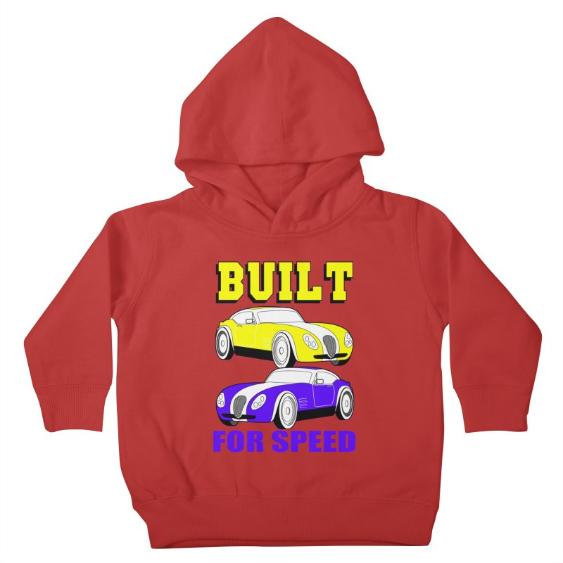VOITURE-4 Kids Toddler Pullover Hoody by THE ORANGE ZEROMAX STREET COUTURE