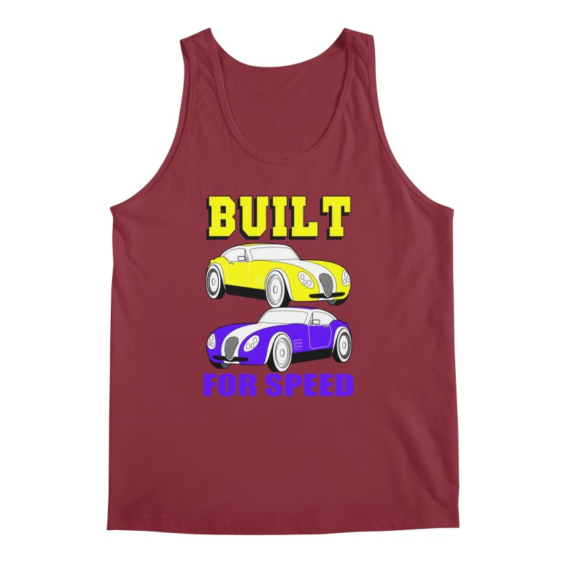 VOITURE-4 Men's Tank by THE ORANGE ZEROMAX STREET COUTURE