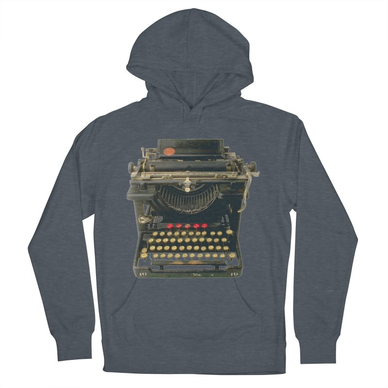 TYPEWRITER Women's Pullover Hoody by THE ORANGE ZEROMAX STREET COUTURE