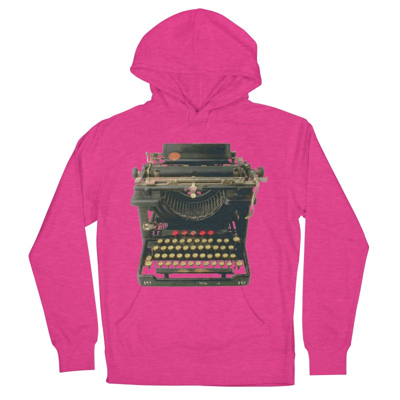 TYPEWRITER Men's Pullover Hoody by THE ORANGE ZEROMAX STREET COUTURE