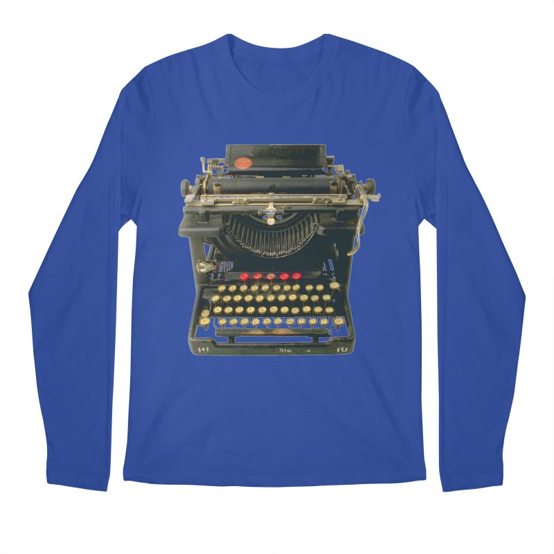 TYPEWRITER Men's Longsleeve T-Shirt by THE ORANGE ZEROMAX STREET COUTURE