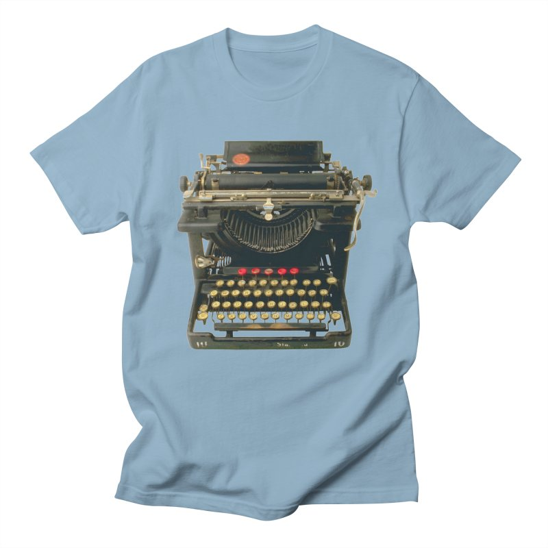 TYPEWRITER Men's T-shirt by THE ORANGE ZEROMAX STREET COUTURE