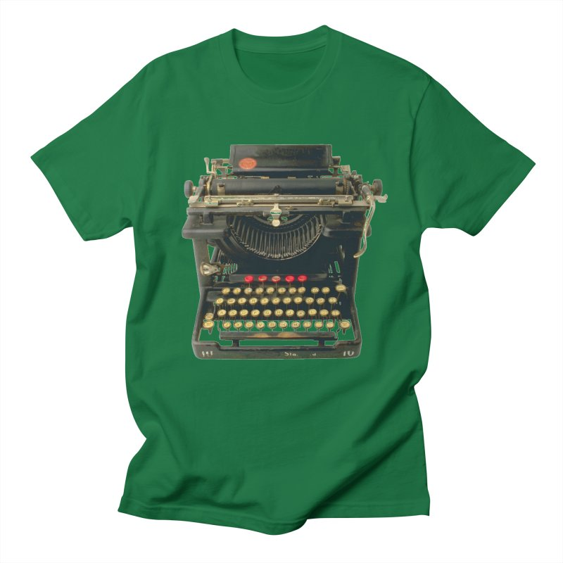 TYPEWRITER Men's T-Shirt by THE ORANGE ZEROMAX STREET COUTURE