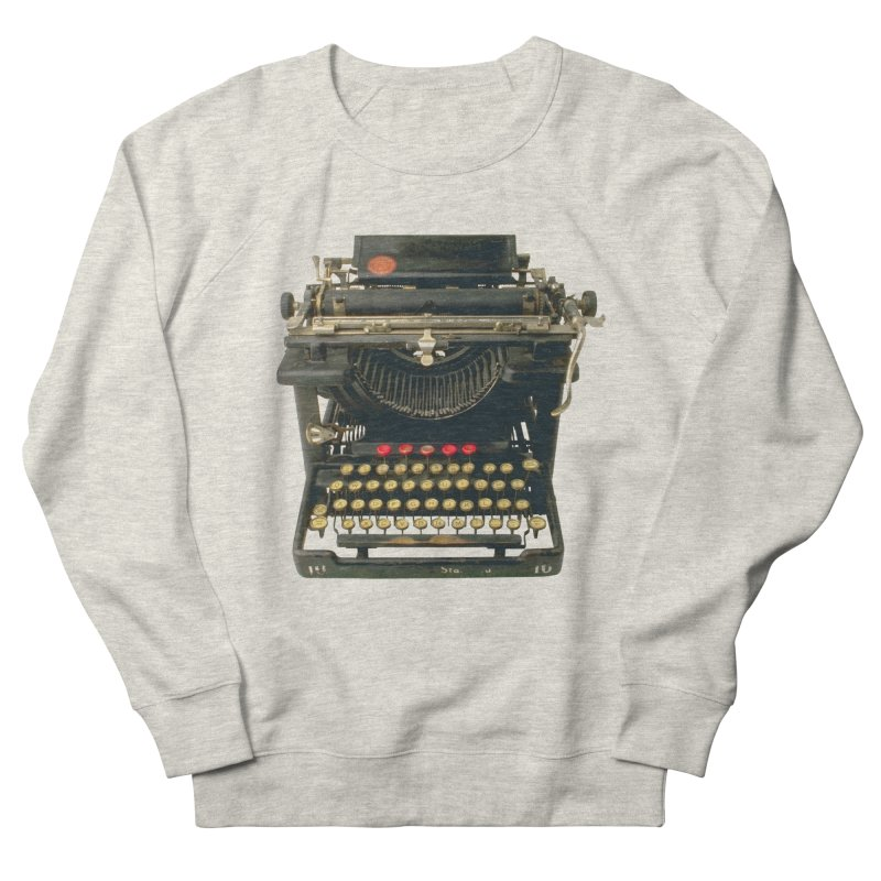 TYPEWRITER Women's Sweatshirt by THE ORANGE ZEROMAX STREET COUTURE
