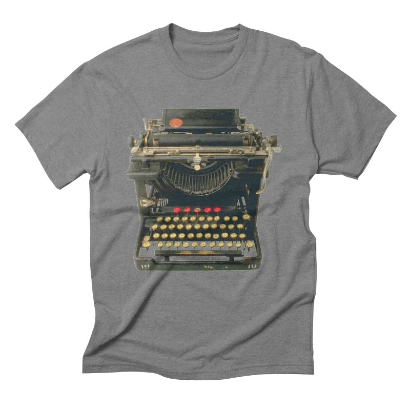 TYPEWRITER Men's Triblend T-shirt by THE ORANGE ZEROMAX STREET COUTURE