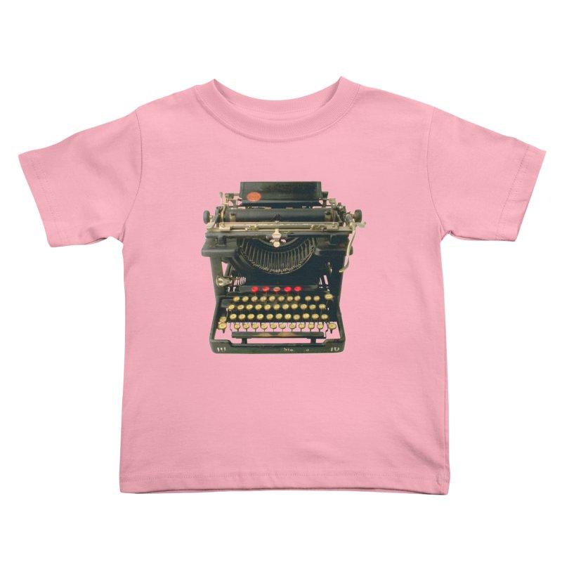 TYPEWRITER Kids Toddler T-Shirt by THE ORANGE ZEROMAX STREET COUTURE