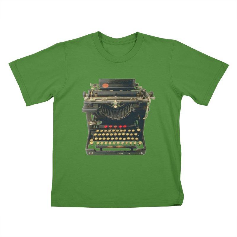 TYPEWRITER Kids T-shirt by THE ORANGE ZEROMAX STREET COUTURE