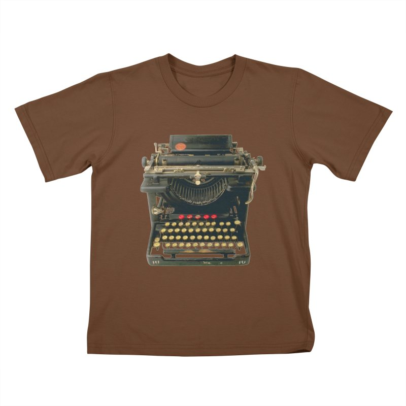 TYPEWRITER Kids T-shirt by THE ORANGE ZEROMAX STREET COUTURE
