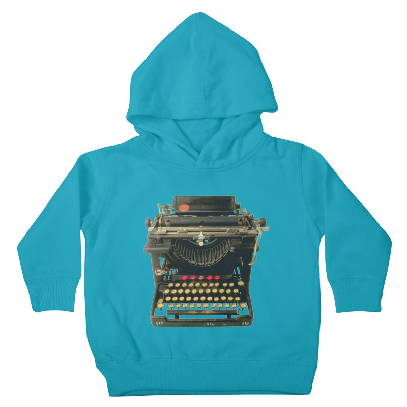 TYPEWRITER Kids Toddler Pullover Hoody by THE ORANGE ZEROMAX STREET COUTURE