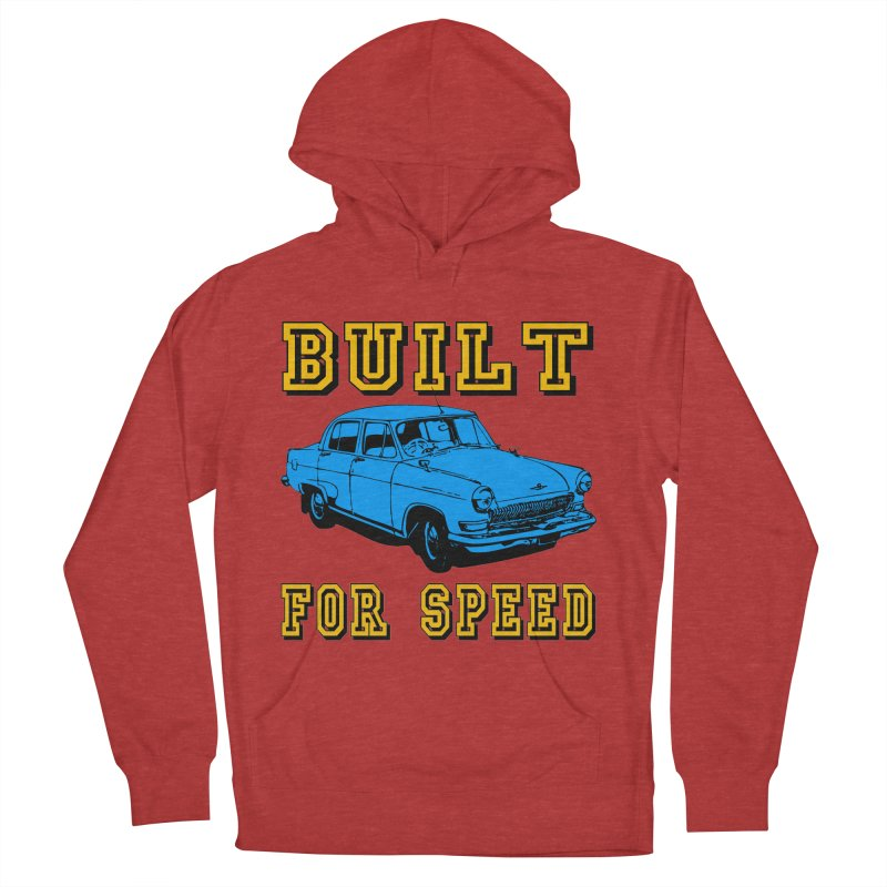 BUILT FOR SPEED-777 Men's Pullover Hoody by THE ORANGE ZEROMAX STREET COUTURE