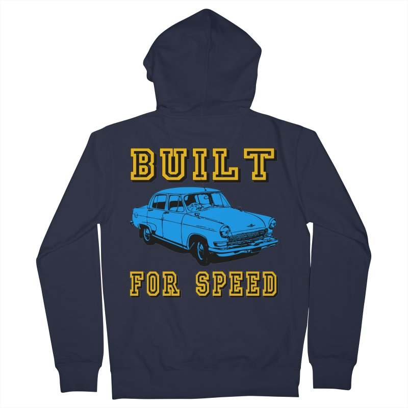 BUILT FOR SPEED-777 Women's Zip-Up Hoody by THE ORANGE ZEROMAX STREET COUTURE