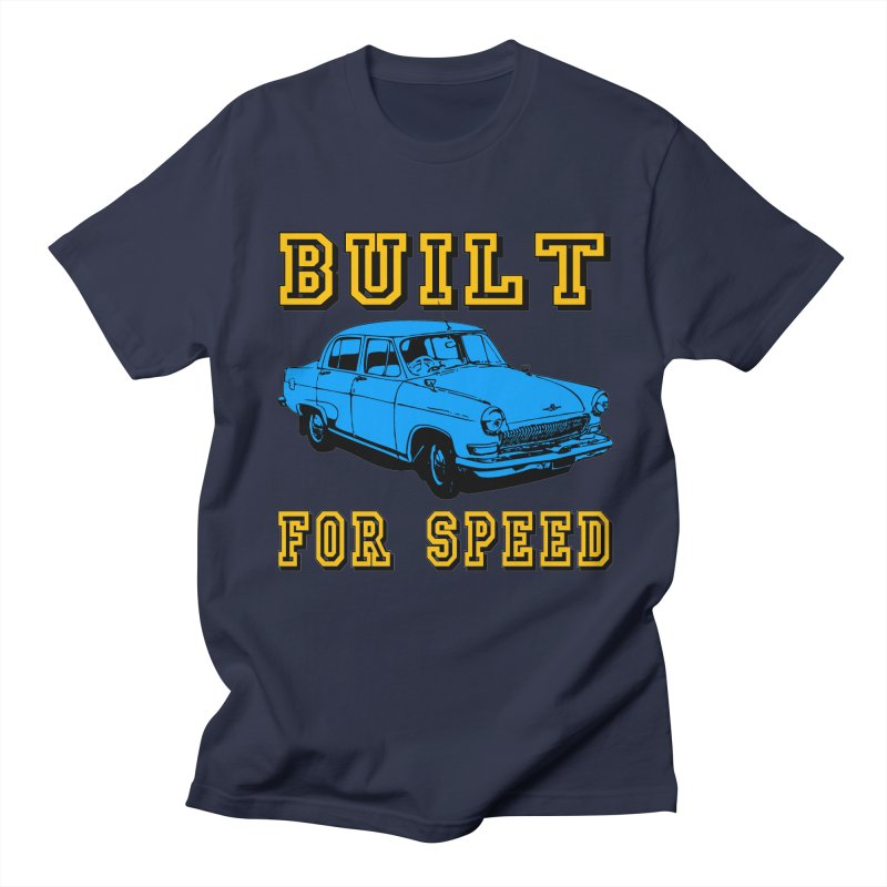 BUILT FOR SPEED-777 Men's T-Shirt by THE ORANGE ZEROMAX STREET COUTURE