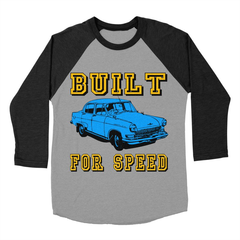 BUILT FOR SPEED-777 Women's Baseball Triblend T-Shirt by THE ORANGE ZEROMAX STREET COUTURE