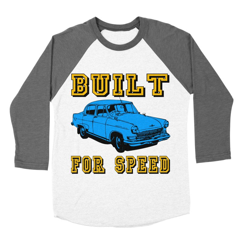 BUILT FOR SPEED-777 Men's Baseball Triblend T-Shirt by THE ORANGE ZEROMAX STREET COUTURE