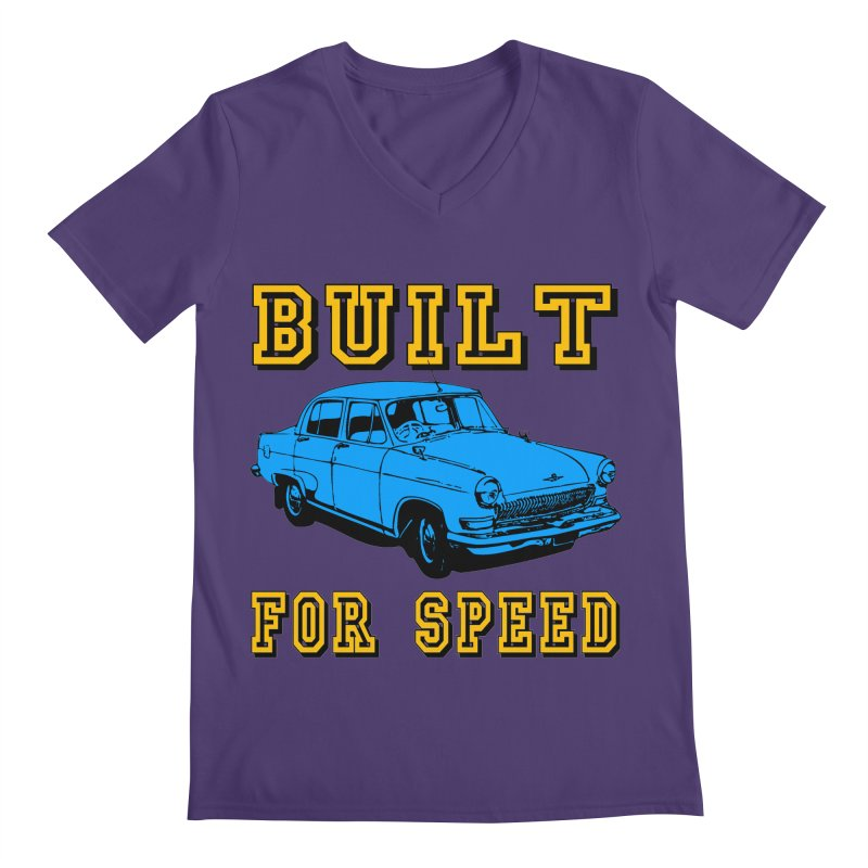 BUILT FOR SPEED-777 Men's V-Neck by THE ORANGE ZEROMAX STREET COUTURE