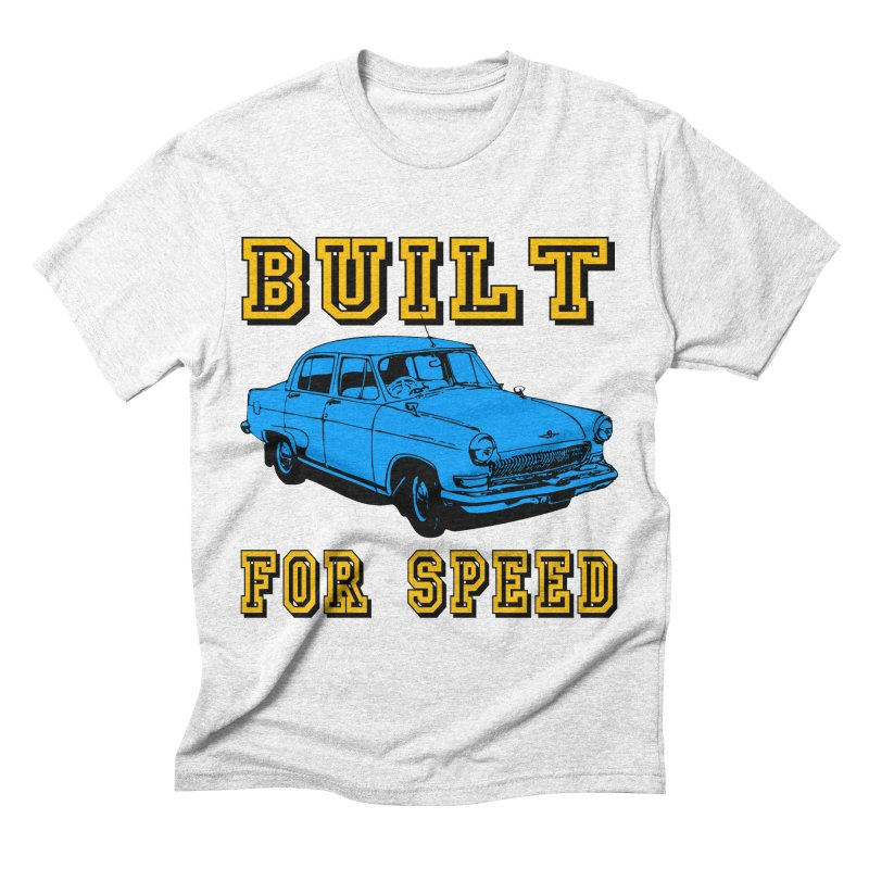 BUILT FOR SPEED-777 Men's Triblend T-shirt by THE ORANGE ZEROMAX STREET COUTURE