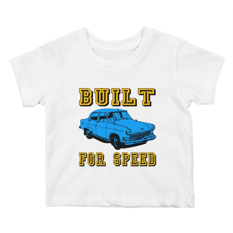 BUILT FOR SPEED-777 Kids Baby T-Shirt by THE ORANGE ZEROMAX STREET COUTURE