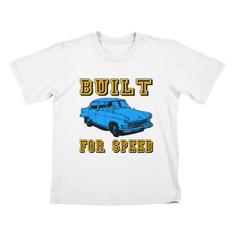 BUILT FOR SPEED-777 Kids T-shirt by THE ORANGE ZEROMAX STREET COUTURE