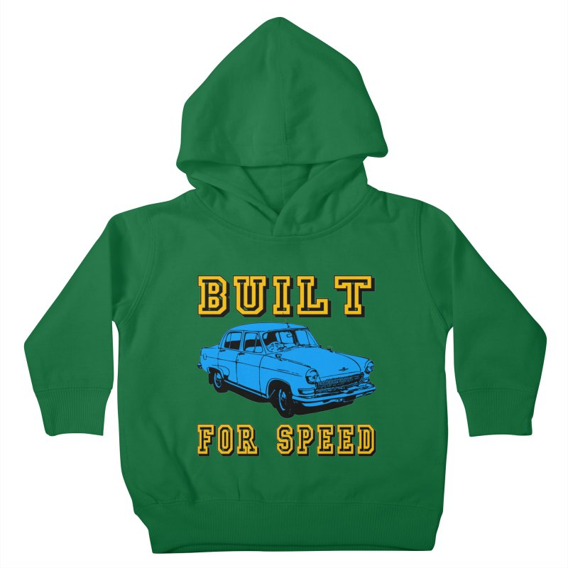 BUILT FOR SPEED-777 Kids Toddler Pullover Hoody by THE ORANGE ZEROMAX STREET COUTURE