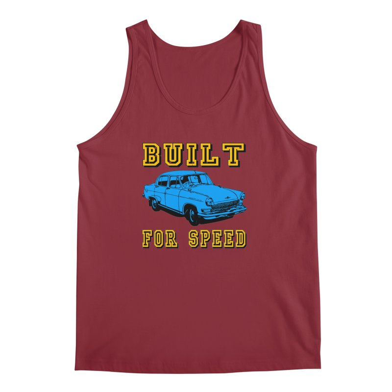 BUILT FOR SPEED-777 Men's Tank by THE ORANGE ZEROMAX STREET COUTURE