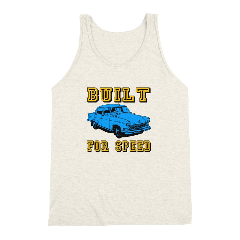 BUILT FOR SPEED-777 Men's Triblend Tank by THE ORANGE ZEROMAX STREET COUTURE
