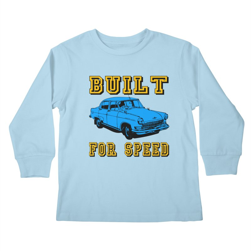 BUILT FOR SPEED-777 Kids Longsleeve T-Shirt by THE ORANGE ZEROMAX STREET COUTURE