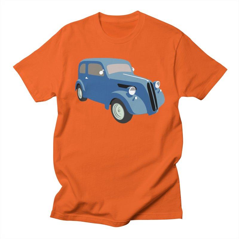 VOITURE-5 in Men's Regular T-Shirt Orange Poppy by THE ORANGE ZEROMAX STREET COUTURE