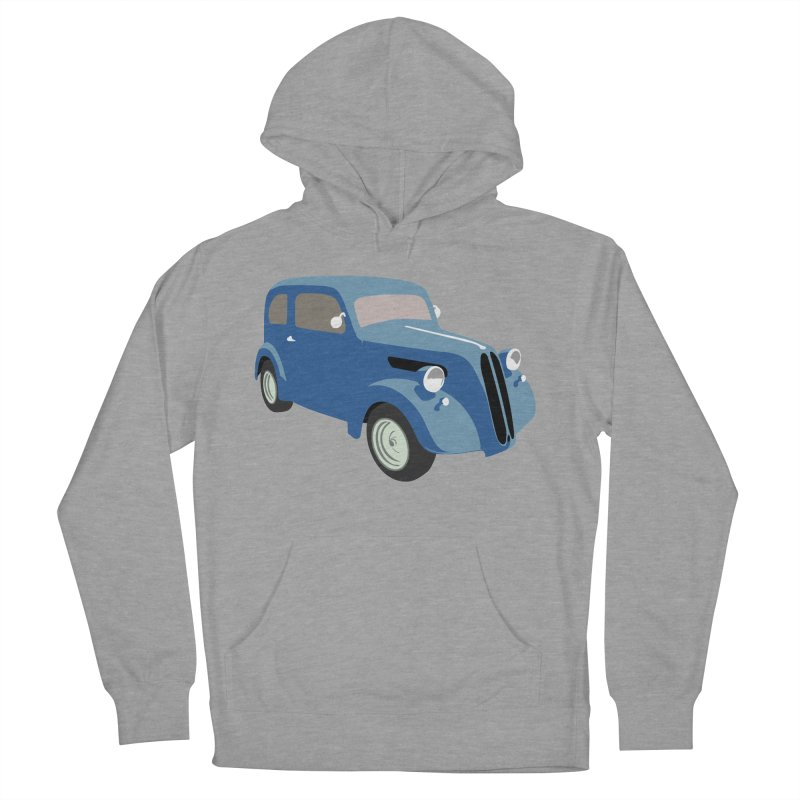 VOITURE-5 Women's Pullover Hoody by THE ORANGE ZEROMAX STREET COUTURE