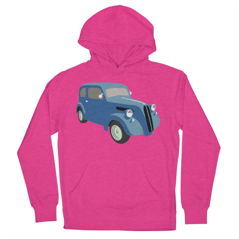 VOITURE-5 Men's Pullover Hoody by THE ORANGE ZEROMAX STREET COUTURE