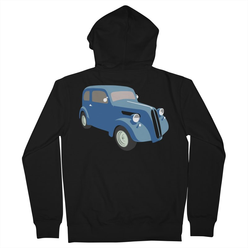 VOITURE-5 Women's Zip-Up Hoody by THE ORANGE ZEROMAX STREET COUTURE