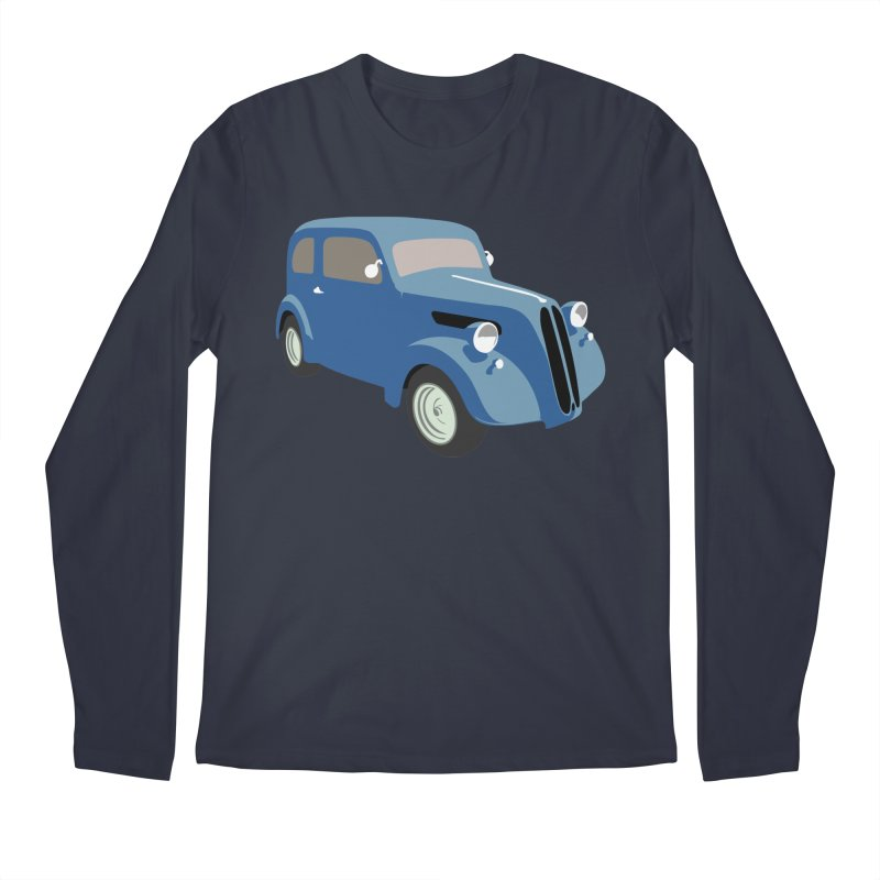 VOITURE-5 Men's Longsleeve T-Shirt by THE ORANGE ZEROMAX STREET COUTURE