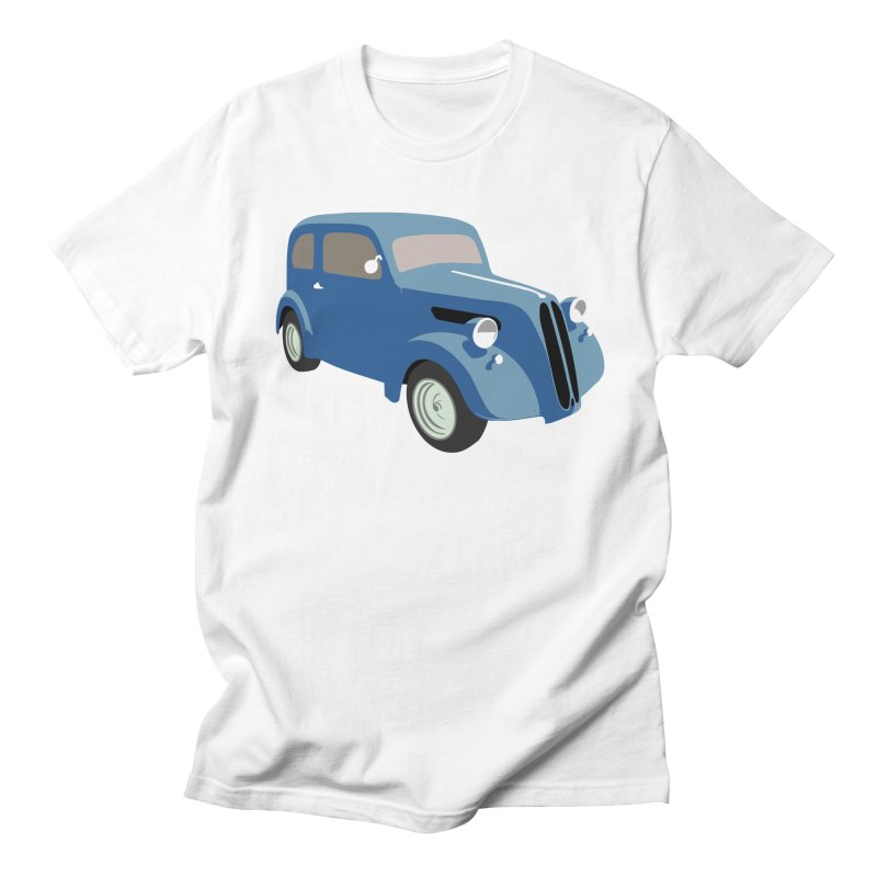VOITURE-5 Men's T-shirt by THE ORANGE ZEROMAX STREET COUTURE