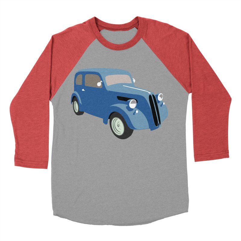VOITURE-5 Women's Baseball Triblend T-Shirt by THE ORANGE ZEROMAX STREET COUTURE