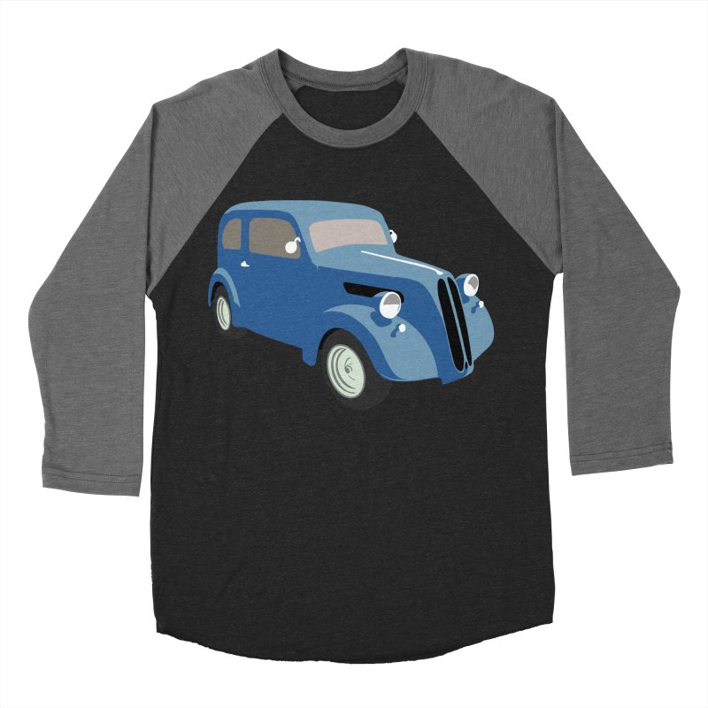 VOITURE-5 Men's Baseball Triblend T-Shirt by THE ORANGE ZEROMAX STREET COUTURE
