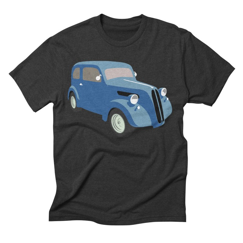 VOITURE-5 Men's Triblend T-shirt by THE ORANGE ZEROMAX STREET COUTURE
