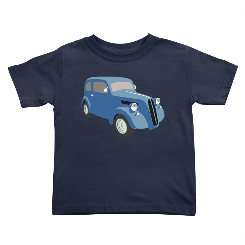 VOITURE-5 Kids Toddler T-Shirt by THE ORANGE ZEROMAX STREET COUTURE