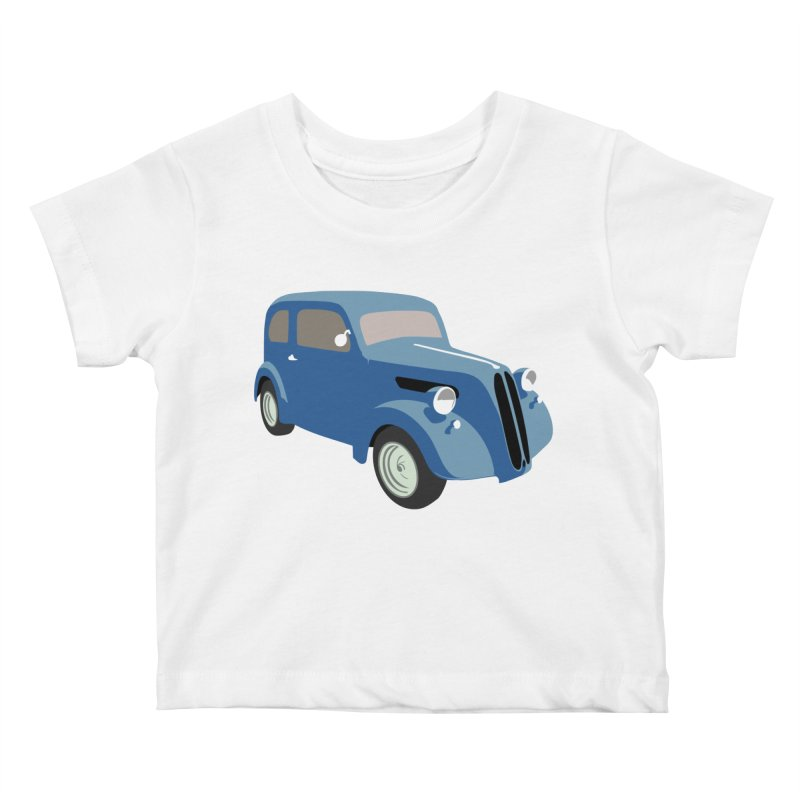 VOITURE-5 Kids Baby T-Shirt by THE ORANGE ZEROMAX STREET COUTURE