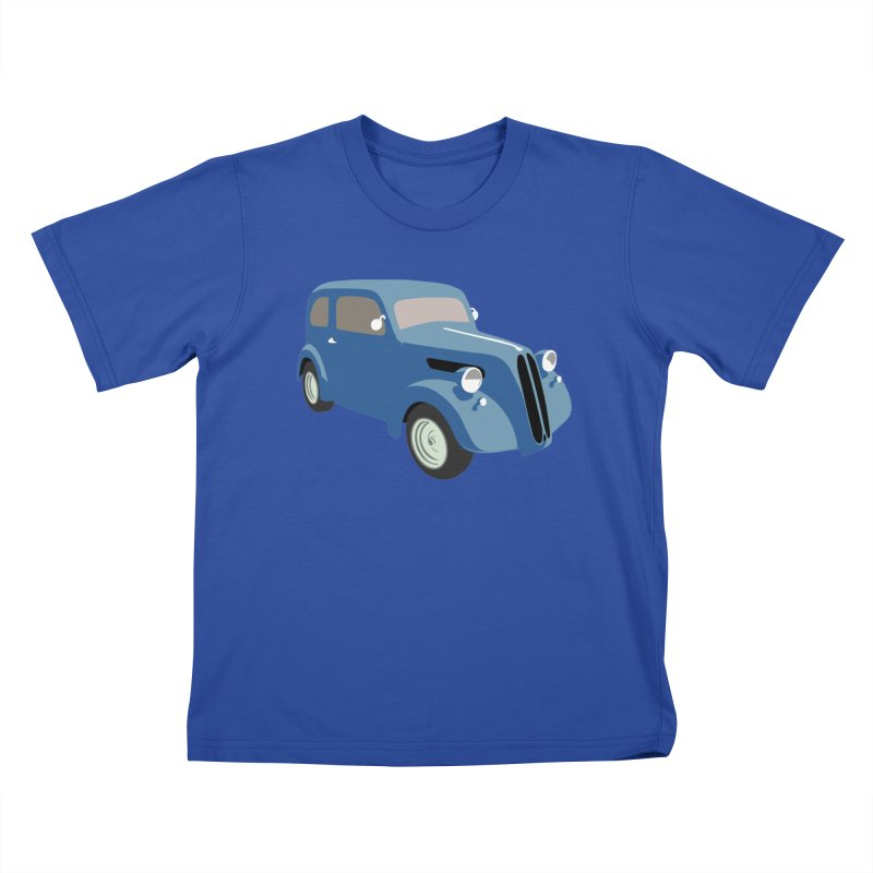 VOITURE-5 Kids T-Shirt by THE ORANGE ZEROMAX STREET COUTURE