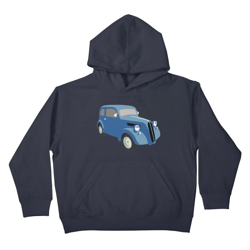 VOITURE-5 Kids Pullover Hoody by THE ORANGE ZEROMAX STREET COUTURE