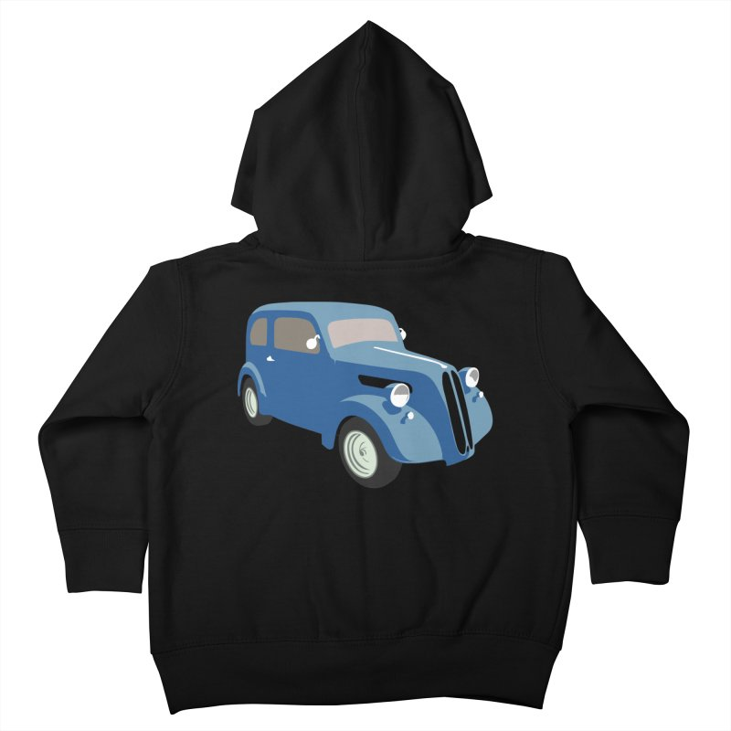 VOITURE-5 Kids Toddler Zip-Up Hoody by THE ORANGE ZEROMAX STREET COUTURE