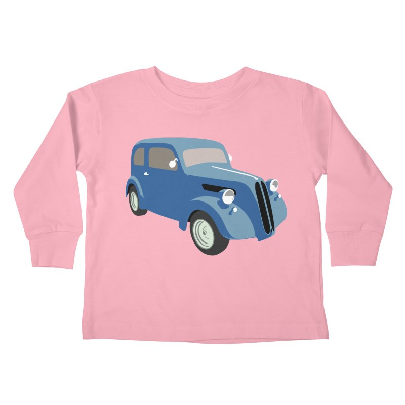 VOITURE-5 Kids Toddler Longsleeve T-Shirt by THE ORANGE ZEROMAX STREET COUTURE