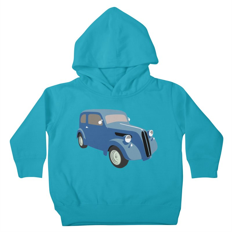 VOITURE-5 Kids Toddler Pullover Hoody by THE ORANGE ZEROMAX STREET COUTURE