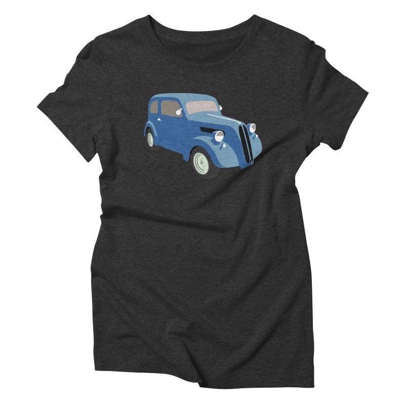 VOITURE-5 Women's Triblend T-Shirt by THE ORANGE ZEROMAX STREET COUTURE